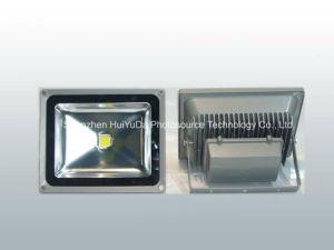 White Color 116*85mm AC165-265V 10W COB LED Flood Light pictures & photos