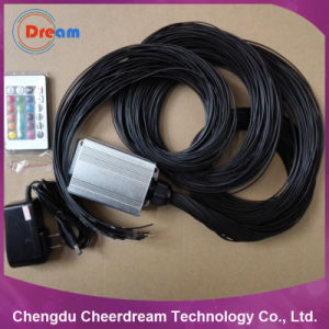 PMMA 0.75mm Fiber Optic Kit with Black Jacket for Star Ceiling pictures & photos