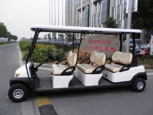 Tourist Use Cheap Mini Golf Cart for Sale with 6 Seaters pictures & photos
