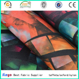 High Strong PU Coated 100% Polyester Cordura 1200d Printed Textile Fabric for Luggage pictures & photos
