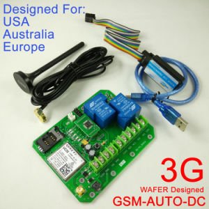3G Version GSM-Auto Double Big Power Relay Output GSM Switch Controller Box pictures & photos