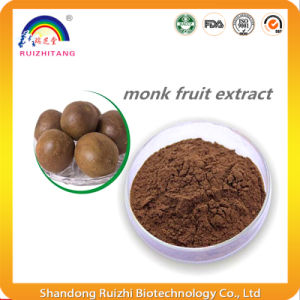 Natural Monk Fruit Powder Luo Han Guo Sweetener Luo Han Guo Extract Powder pictures & photos
