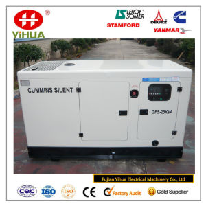 Cummins Generator, Cummins with Stamford 20kw/25kVA Silent Diesel Generator Set pictures & photos