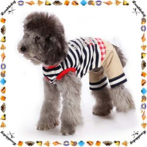 New Style Four Legs Cotton Dog Clothes Summer pictures & photos