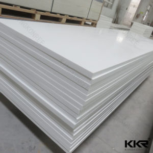 Pure White Wholesale Acrylic Solid Surface Sheet pictures & photos