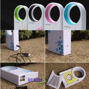 High Quality Mini USB Bladeless Fan / No Leaf Air-Condition Fan pictures & photos