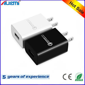 EU/Us Socket Single Port QC2.0 Quick Charger for Mobile Phone pictures & photos