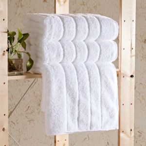 Economic 100% Cotton White Hotel Bath Towels pictures & photos