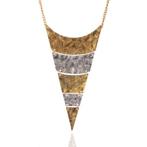 Fashion Geometric Triangle Statement Necklace Jewelry pictures & photos