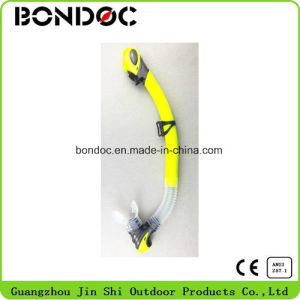 Silicone Full Dry Diving Snorkel for Adult (JS-7058) pictures & photos
