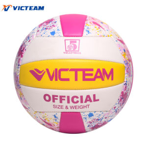Wholesale Soft PVC Machine Sewing Volleyball Ball pictures & photos