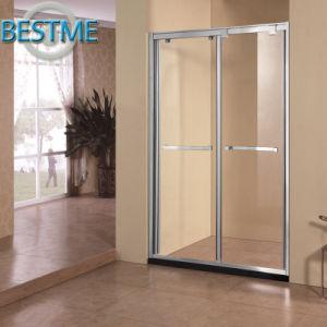 Double Sliding Aluminum-Alloy Shower Partition (BL-F3016) pictures & photos