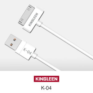 Kingleen Model K-04 Data Cable 1.2m  for iPhone4 pictures & photos