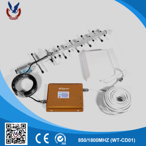 Home 2g 3G Mobile Phone Signal Booster with Indoor Antenna pictures & photos