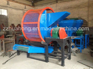 Tire Recycling Waste Tire Cutting Machine / Whole Tire Recycling Machine / Scrap Tire pictures & photos