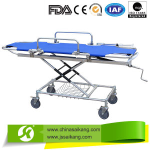 BV Factory Simple Ambulance Stretcher Trolley pictures & photos