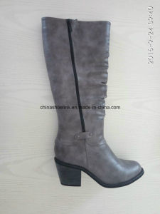 China Women Winter Long Boots Exporter pictures & photos