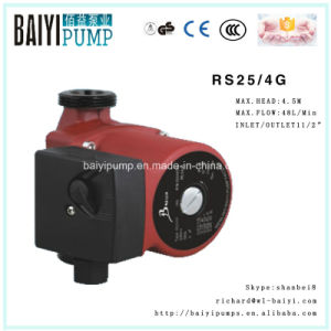 Mini Hot Water Pressure Boosting Circulation Shield RS25/4G Pump pictures & photos