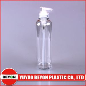 10oz/300ml Plastic Cylinder Round Shoulder Cosmetic Bottle (ZY01-B127) pictures & photos