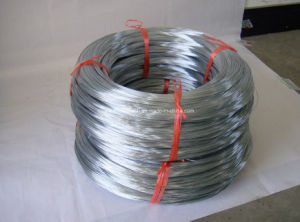 Galfan Wire/Zn-5%Al-Alloy Coating Iron Wire/Galvanized Steel Wire for Build Gabion pictures & photos