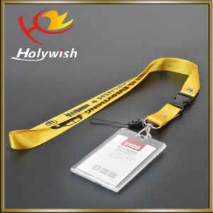 Excellent Quality Silk Screen Printed Lanyards ID Badge Holder pictures & photos