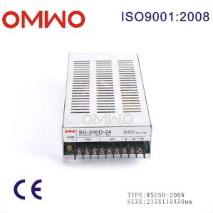 200W Wxsd-200d-12 Single Output DC to DC Converter pictures & photos