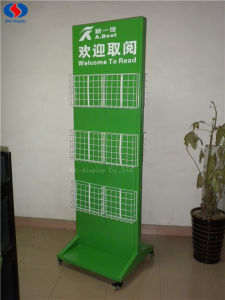 Hot Sale Double-Sided Metal Magazine Display Rack pictures & photos