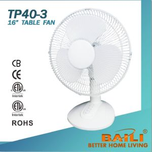 """16"""" Cooling Table Fan with 3 Comfort Speeds pictures & photos"""