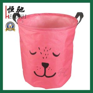 Household Waterproof Cotton Laundry Hamper Laundry Storage Basket pictures & photos