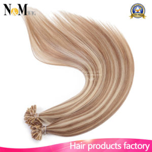 """16"""" 20"""" 24"""" 1g/S 50g 100g Brazilian Remy Hair Keratin U Nail Tip Straight Human Hair Extensions New 2017 8A High Grade 16 Colors pictures & photos"""