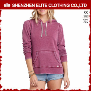 Bulk Sale High Quality Hoodies Women Kangaroo Pocket (ELTHI-15) pictures & photos