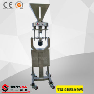 China Semi Auto Grained Coffee Filling Machine pictures & photos