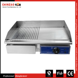 Electric Griddle Large Twin Hotplate Commercial Burger Grill Bacon Egg pictures & photos