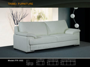 Living Room Sofa with Modern Genuine Leather Sofa (1+2+3) pictures & photos