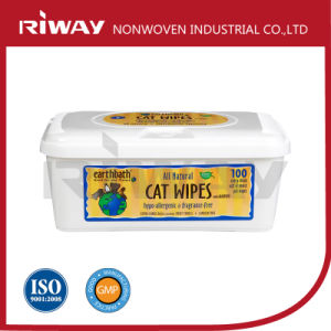 Disposable Pet Cat Cleaning Wet Wipes/Towels/Tissues in Box Pet Store Supply Magic Clean Wipe pictures & photos