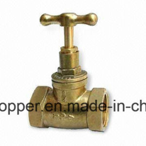Brass Stop Valve for Drinking Water pictures & photos