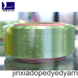 FDY Dope Dyed 500d/288f Filament Polyester Yarn pictures & photos