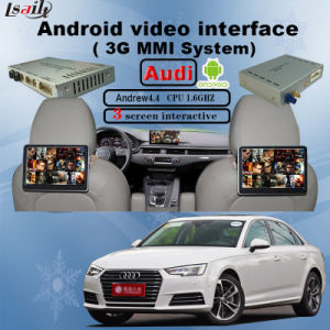 Car Android GPS Interface for Audi with Original Switch to Change Screen pictures & photos