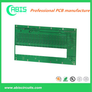 Multilayer PCB with Gold Plating and Green Solder Mask. pictures & photos