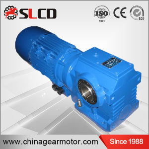 S Series High Efficiency Hollow Shaft Helical Worm Speed Reducer pictures & photos