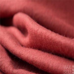 100%Wool Fabric for Winter in Light Orange pictures & photos
