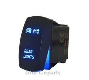 Car Truck Laser Engraving Rear Light Toggle Switch pictures & photos