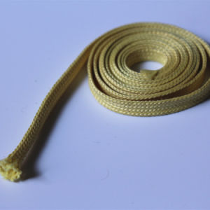 High Temperature and Heat Resistant Braided Kevlar Aramid Sleeve pictures & photos