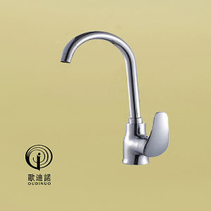 Oudinuo Brass Material Kitchen Mixer 68319 pictures & photos