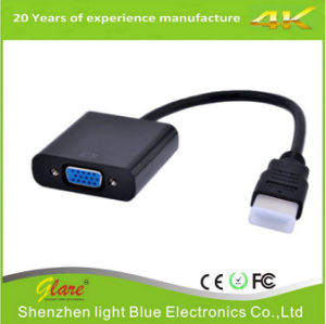 1080P HDMI Male to VGA Female Adapter Video Cable pictures & photos