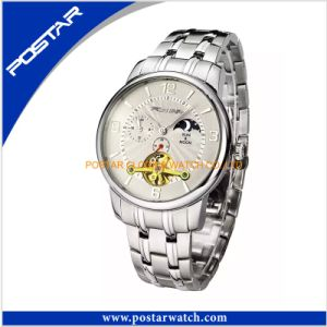 Multifunction Quartz Watches for Men Fashion Stainless Steel Watch pictures & photos