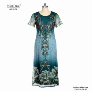 Miss You Ailinna 802073 Women Long Summer Mesh Dress Distributor pictures & photos