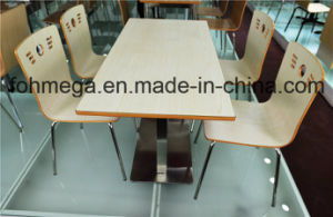 American Style Plywood Fastfood Restaurant Furniture for Sale (FOH-CXSC54) pictures & photos