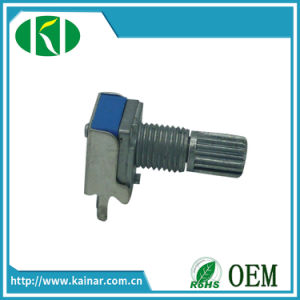 9mm Long Shaft Linear Potentiometer with Bracket Wh9011A-1j pictures & photos