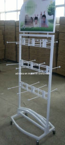 Metal & Stainless Steel &Acrylic Socks Display Rack Stand pictures & photos